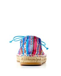 Tabitha Simmons - Multicolor Dolly Laceup Espadrille with Rope Detail - Lyst