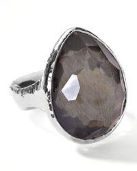 Ippolita - Metallic Pyrite Teardrop Ring - Lyst