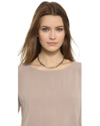 House of Harlow 1960 | Reversible Ascension Collar Necklace - Black | Lyst