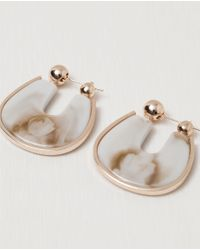 Zara | Earring With Metallic Detail | Lyst