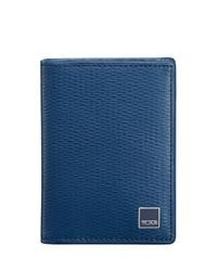 Tumi - Blue Monaco Gusseted Card Case - Lyst