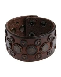 Replay - Brown Bracelet for Men - Lyst
