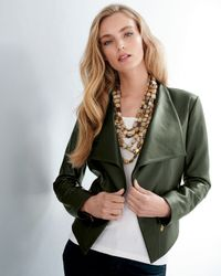 Viktoria Hayman Black Oval Mother-of-pearl Stretch Bracelet