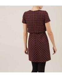 Hobbs | Blue Derry Tier Dress | Lyst