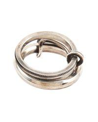 Werkstatt:münchen   Metallic Connected Ring for Men   Lyst