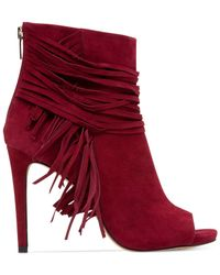 Vince Camuto - Red Ferdinand Booties - Lyst