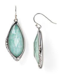 Alexis Bittar | Green Amazonite Infinity Drop Earrings | Lyst