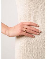 Kelly Wearstler | Metallic 'anza' Ring | Lyst