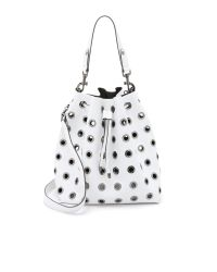 Deux Lux | White London Bucket Bag - Black | Lyst