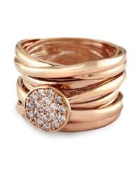 Effy | Pink Diamond And 14k Rose Gold Ring | Lyst