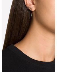 Ileana Makri | Metallic 'teared Eyelash' Diamond Ear Cuff | Lyst