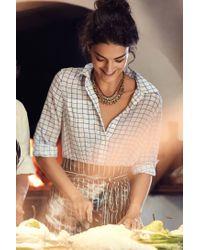 Sorrelli | Orange Sparkled Peche Bib Necklace | Lyst