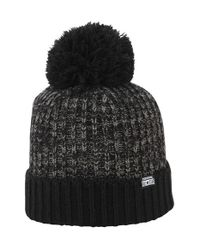 Converse Black Pom Knit Cap for men