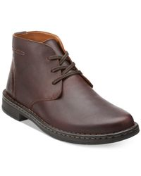 Clarks | Brown Men's Kyros Limit Chukka Boots for Men | Lyst