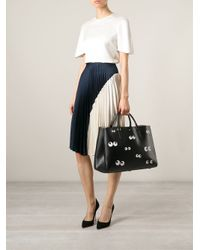 Anya Hindmarch - Black 'Nocturnal Maxi Featherweight Ebury' Tote - Lyst