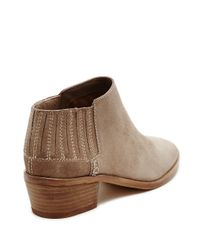 Dolce Vita | Gray Keiton Suede Booties | Lyst