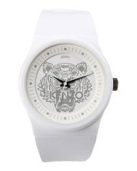 KENZO - White Wrist Watch for Men - Lyst