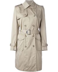 DIESEL Natural 'g-jane' Trench Coat