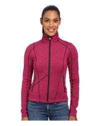 Spyder - Purple Bandita Fleece Jacket - Lyst