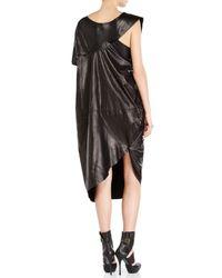 Junya Watanabe - Black Leather Dress - Lyst