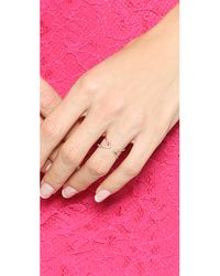 Gorjana - Pink Orbit Shimmer Cuff Ring - Rose Gold - Lyst