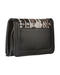 French Connection - Black Vanessa Clutch - Lyst