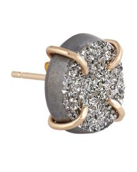 Melissa Joy Manning - Metallic 14-karat Gold Druzy Earrings - Lyst