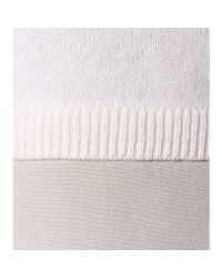 Vince | White Wool, Cashmere And Silk Sweater | Lyst