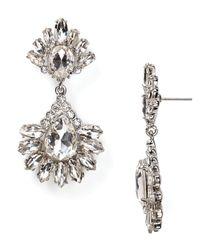 Carolee Metallic Haute Hollywood Statement Earrings