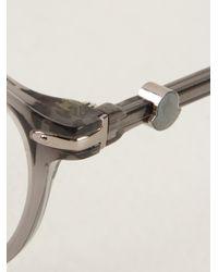Moncler Gray Optical Glasses for men