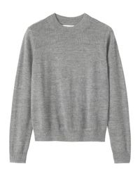 Toast | Gray Baby Alpaca Sweater | Lyst