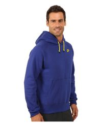 Nike | Blue Aw77 Fleece Pullover Hoodie for Men | Lyst