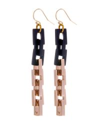 Lulu Frost | Metallic Gold-plated Poison Earrings | Lyst