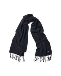 Pink Pony | Black Cashmere-lambswool Scarf | Lyst