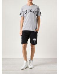Stussy Black Sweat Shorts for men
