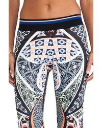 Clover Canyon   Blue Cuban Tile Pants in Black   Lyst