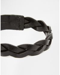 Jack & Jones | Black Leather Wrap Bracelet for Men | Lyst