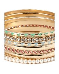Forever 21 - Multicolor Opulent Bangle Set - Lyst