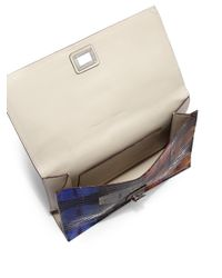 Proenza Schouler - Multicolor Python Small Lunch Bag - Lyst