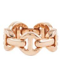 Hoorsenbuhs | Metallic 'dame Tri-link' Ring | Lyst