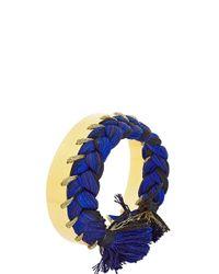 Aurelie Bidermann Blue Tangerine Cuff