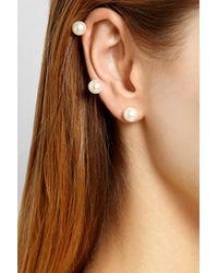 Ana Khouri - Metallic Jane 18karat Gold Saltwater Pearl Ear Cuff - Lyst