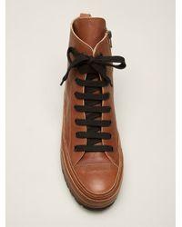 Ann Demeulemeester Brown Varsavia Lux Boots for men