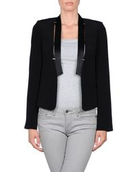 French Connection - Black Blazer - Lyst