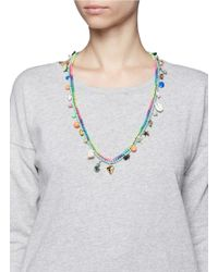 Venessa Arizaga - Multicolor 'california Dreamin' Necklace - Lyst