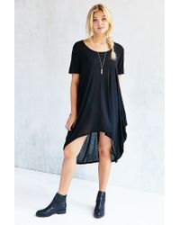 Project Social T - Black Brooks Tunic Top - Lyst