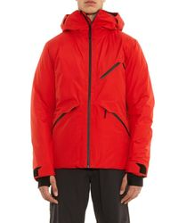 Aether Red Crest Insulated Ski Jacket for men