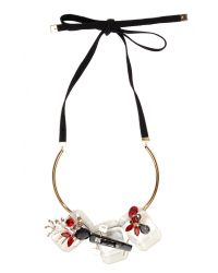 Marni - Multicolor Strass Necklace In Transparent - Lyst