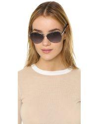 Diane von Furstenberg - Blue Sental Sunglasses - Lyst