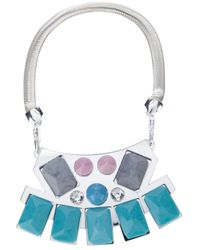 Holly Fulton - Metallic Norma Bib Necklace - Lyst